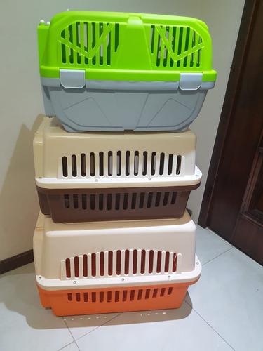 jaula caja kennel transporte perros gatos cachorros animales