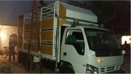 jaula camion npr, jac, super duty