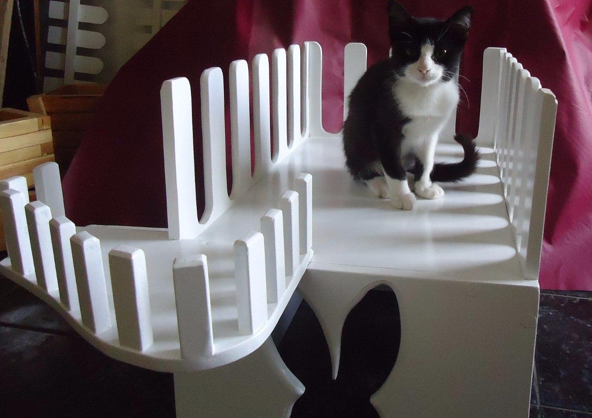 Jaula casa cama en madera para gato conejo perros hamster - Cama para gato ...