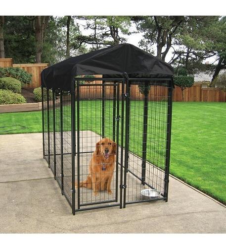 jaula corral para perro cachorros mascotas 2mt plegable