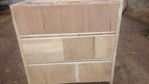 jaula de madera para criar cuyes