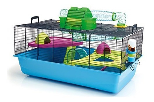 jaula de metro lixit animal care savic hamster heaven (paque