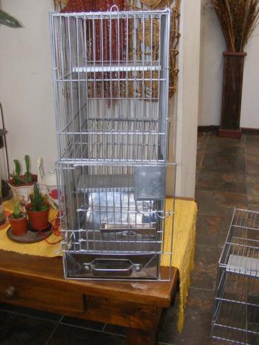 jaula de  tres pisos  para chinchillas y otros roedores