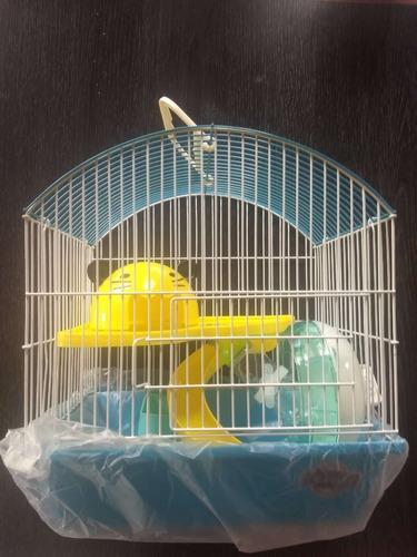jaula fantasía hamster (incluye accesorios) envío gratis