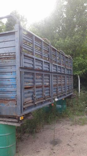 jaula ganadera para camion