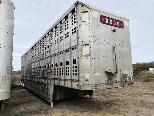 jaula ganadera wilson trailer 50 pies suspension de aire