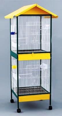 jaula gigante para aves pequeñas y medianas