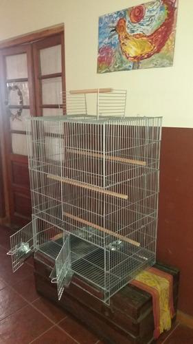 jaula grande p/loros y aves