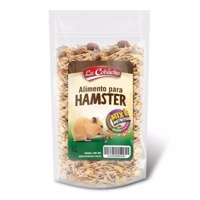 jaula hamster + alimento roedores tubos rueda mascota