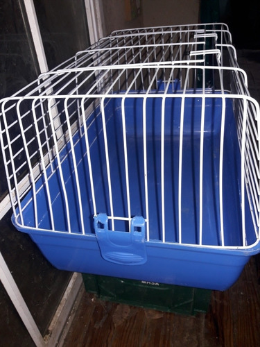 jaula importada grande para cobayos 60x35x30 usada buen esta