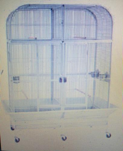 jaula loros doble xl envio gratis !!!!