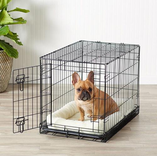 jaula metálica perros entrenam./viajes large dogit + envío