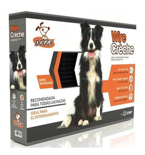 jaula metalica plegable chica doggy entrenamiento clínicas