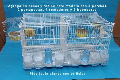jaula para canarios diseño italiano hlw