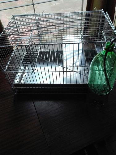 jaula para chinchilla, cobayo rata y erizo