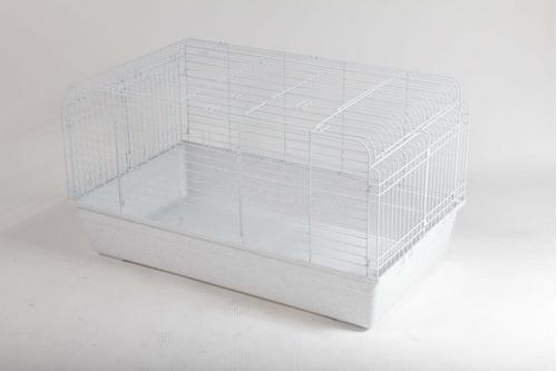 jaula para conejo extra grande 100x68x54 cm + envío