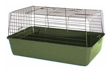 jaula para - conejos, cobayas,  erizos,  60 x 36 x 33 cm