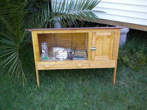 jaula para conejos, cuyes y erizos