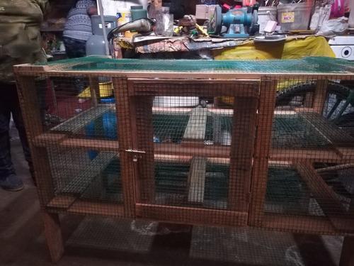 jaula para cuyes o conejos