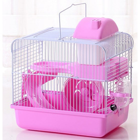 Jaula Para Hamster, 2 Pisos Oferta, Envíos Gratis