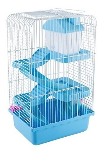 jaula para hamster petmaker ideal para 1 sola mascota azul