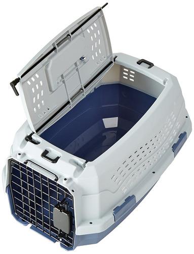 jaula para mascotas doble acceso, para gato o perro pequeños