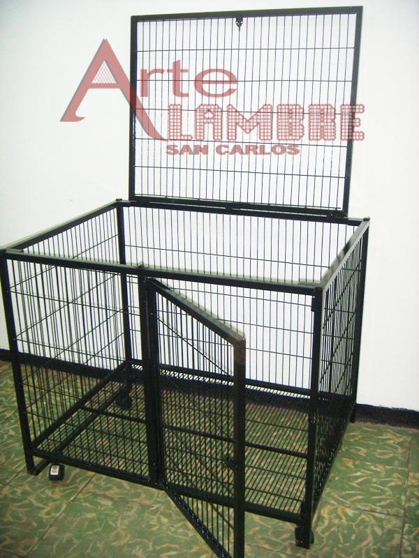Jaula para perro desarmable grande en mercado for Jaulas de perros