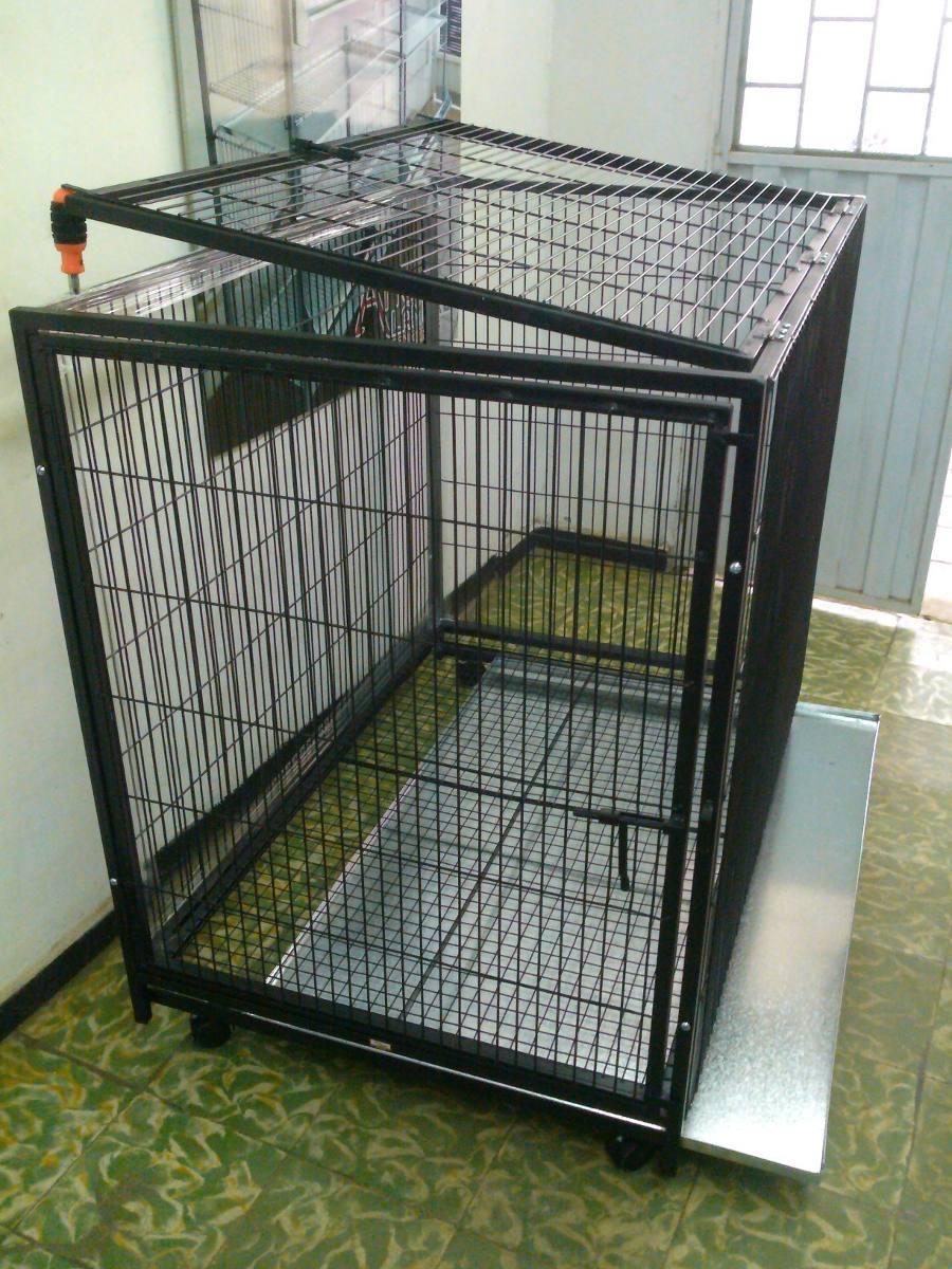 Jaula para perro r g de en mercado libre for Jaulas de perros