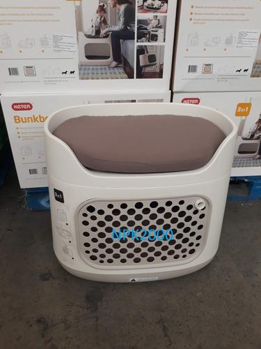 jaula para perros transportadora cama gatos mascotas keter