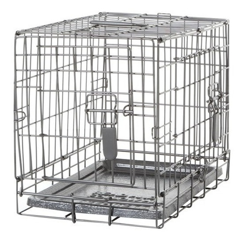 jaula plegable dog it 2 puerta con divisor small