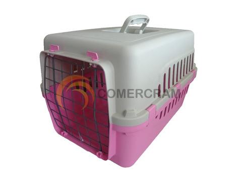 jaula transportadora para mascotas (50x30x32) razas pequeñas