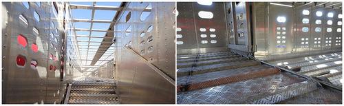 jaulas de ganado en aluminio y furgones