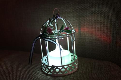 jaulas mini souvenirs decorar fiestas shabby chic vintage