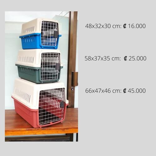 jaulas transportadora para mascotas (todo tipo de tamaños)