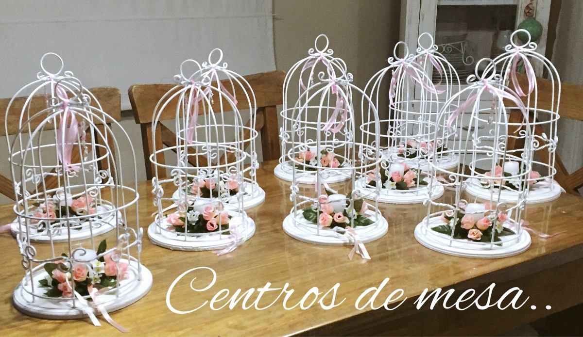 Jaulas Vintage, Centros De Mesas Originales! - $ 270,00 en Mercado Libre