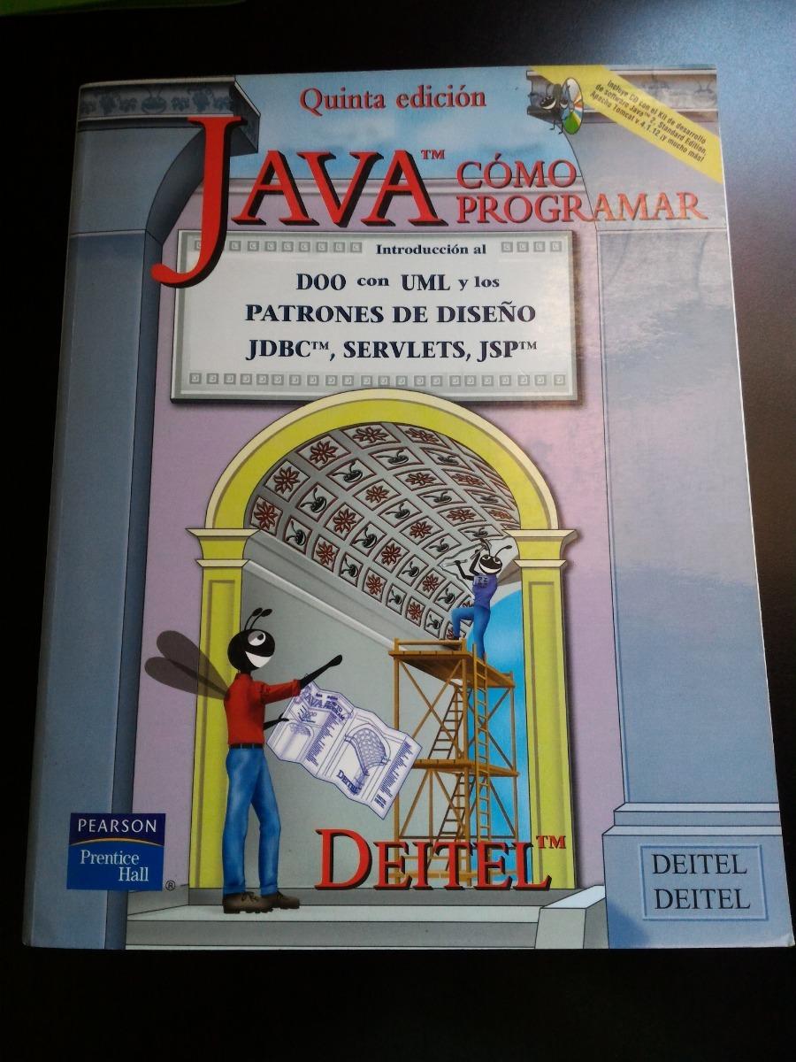 como programar en java deitel 5ta edicion