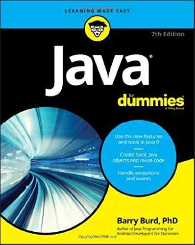 java for dummies : barry burd