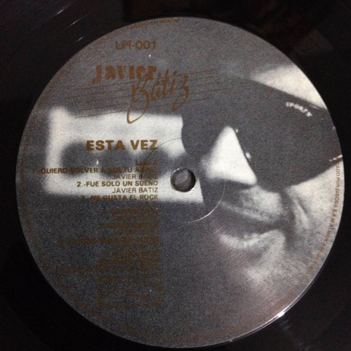javier batiz, esta vez disco vinyl, rock tijuana