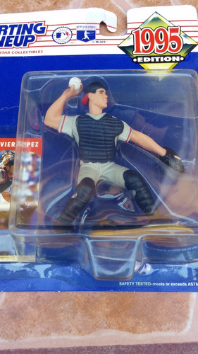 javier lopez starting lineup edition 1995 kenner!!!!