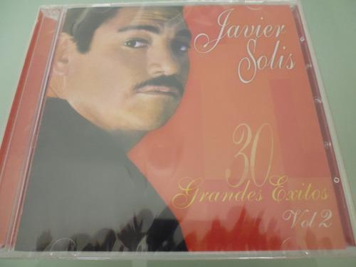 javier solis / 30 grandes exitos vol 2 / 2 cds / nuevo /