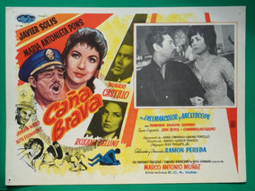 b5cbe464f Javier Solis Caña Brava Maria Antonieta Pons Cartel De Cine
