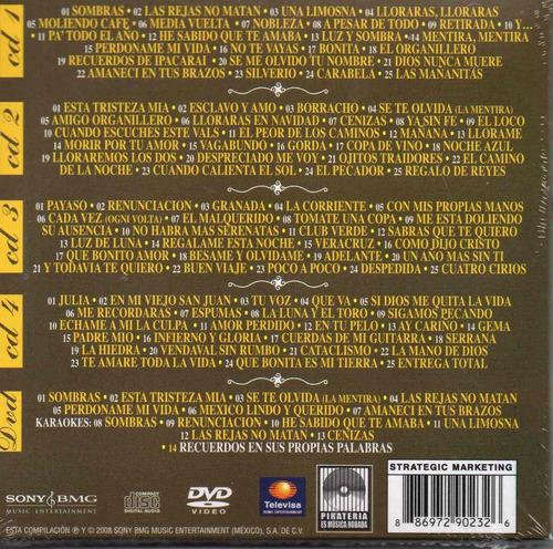 javier solis / los 100 clasicos / 42 aniversario 4 cds + dvd
