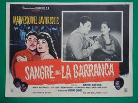 eb54ed0ca Javier Solis Sangre En La Barranca Juan Orol Cartel De Cine