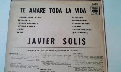 javier solis vinilo disco lp  megusta_melollevo