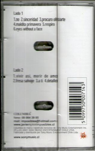 javiera y los imposibles - am (cassette sellado)