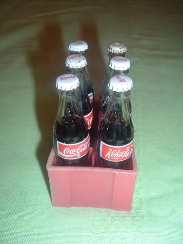 javita de plastico botellitas de cocacola