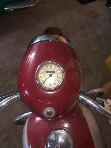 jawa 350 cc 1959 placa preta