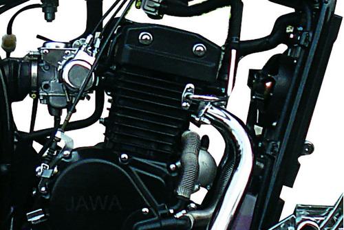 jawa daytona 350-carburador-tablero digital