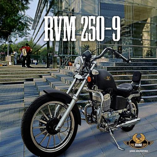jawa rvm 250 custom 0km 2020 injeccion hasta el 25/5
