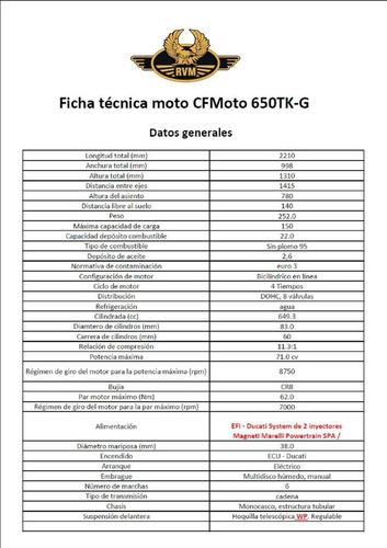 jawa rvm 650 cf touring 0km  2017 stock nuevo 25/10